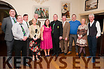 Listowel Rugby Social : Pictured at the Listowel Rugby Social in the Arms Hotel on Saturday night last were Tom Bradley, James McGuire, Andy Smith, Gus Sweeney, Orleagh Foran, Karen & Aidan Mulvihill, Stephen Reidy, Con Lynch, Anne Marie O'Sullivan & Barry Mahony.