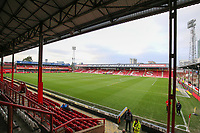 A general view of Griffin Park, home of Brentford FC<br /> <br /> Photographer Alex Dodd/CameraSport<br /> <br /> The EFL Sky Bet Championship - Brentford v Bolton Wanderers - Saturday 13th January 2018 - Griffin Park - Brentford<br /> <br /> World Copyright &copy; 2018 CameraSport. All rights reserved. 43 Linden Ave. Countesthorpe. Leicester. England. LE8 5PG - Tel: +44 (0) 116 277 4147 - admin@camerasport.com - www.camerasport.com