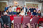 Margaret Conway (seated centre) from New Marion Pk, Tralee celebrating her 60th birthday and Brooklyn Conway (front 3rd from left) celebrating his 9th birthday in Cassidys on Friday night.