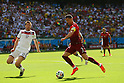 (L to R) <br /> Per Mertesacker (GER), <br /> Cristiano Ronaldo (POR), <br /> JUNE 16, 2014 - Football /Soccer : <br /> 2014 FIFA World Cup Brazil <br /> Group Match -Group G- <br /> between  Germany 4-0 Portugal <br /> at Arena Fonte Nova, Salvador, Brazil. <br /> (Photo by YUTAKA/AFLO SPORT)
