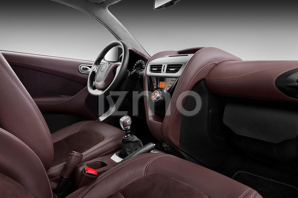 Passenger side dashboard view of a 2011 - 2013 Aston Martin Micro Car.
