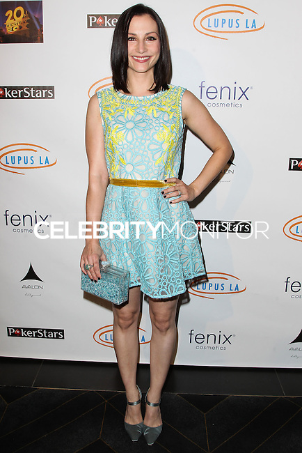 HOLLYWOOD, LOS ANGELES, CA, USA - SEPTEMBER 18: Heather McComb arrives at the 'Get Lucky For Lupus' 6th Annual Poker Tournament held at Avalon on September 18, 2014 in Hollywood, Los Angeles, California, United States. (Photo by Celebrity Monitor)