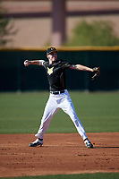 Andrew Patrick during the Under Armour All-America Tournament powered by Baseball Factory on January 18, 2020 at Sloan Park in Mesa, Arizona.  (Mike Janes/Four Seam Images)