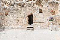 Israel, Jerusalem, Holy land,Garden tomb of Jesus