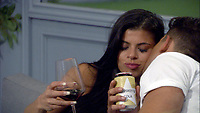 Celebrity Big Brother 2017<br /> Marissa Jade and Jordan Davies.<br /> *Editorial Use Only*<br /> CAP/KFS<br /> Image supplied by Capital Pictures