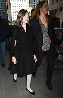 NEW YORK, NY - NOVEMBER 14: Mackenzie Foy seen at NBC's Today Show studios in New York City. November 14, 2012. Credit: RW/MediaPunch Inc. /NortePhoto