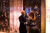 Henry Kravis (co-founder of KKR) arrives at Trump Tower in Manhattan, New York, U.S., on Thursday, Thursday, January 12, 2017. <br /> Credit: John Taggart / Pool via CNP