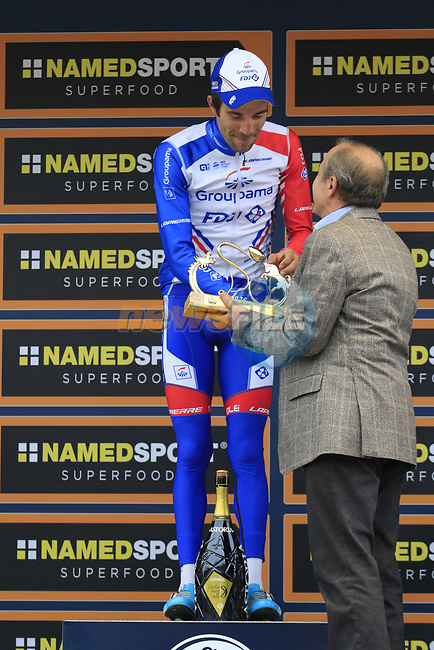 Thibaut Pinot (FRA) Groupama-FDJ wins the 99th edition of Milan-Turin 2018, running 200km from Magenta Milan to Superga Basilica Turin, Italy. 10th October 2018.<br /> Picture: Eoin Clarke   Cyclefile<br /> <br /> <br /> All photos usage must carry mandatory copyright credit (© Cyclefile   Eoin Clarke)