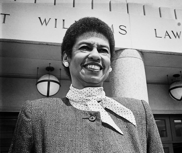 Rep. Eleanor Holmes Norton, D-D.C. September 27, 1990. (Photo by Laura Patterson/CQ Roll Call)