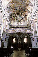 Vienna: St. Charles Borromeo--rear of church.
