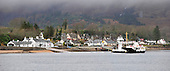The Corran Ferry heads across Loch Linnhe to  Nether Lochaber, in the Scottish Highlands, on the short crossing from Ardgour - Highland Council, who run the service, voted to raise fares by about 2% after public pressure forced a u-turn from a proposed 13% increase to the current £8 one-way fare levied for the 500m crossing - see story - picture by Donald MacLeod 12.3.15 clanmacleod@btinternet.com www.donald-macleod.com