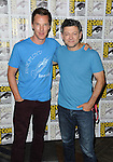 Benedict Cumberbatch and  Andy Serkis at the Boxtrolls Panel at Comic-Con 2014  held at The Hilton Bayfront Hotel in San Diego, Ca. July 26, 2014.