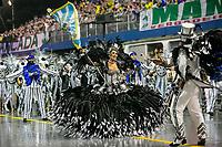 SÃO PAULO, SP, 01.03.2019: CARNAVAL-SP – Apresentação da escola de samba Império de Casa Verde durante o primeiro dia de desfile do Grupo Especial do carnaval de São Paulo, nesta sexta-feira (01), no Sambódromo do Anhembi na capital paulista. (Foto: Marivaldo Oliveira/Código19)