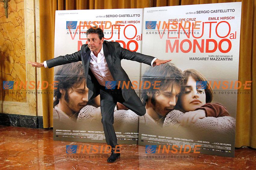 Sergio Castellitto.Roma 05/11/2012 Photocall del film Venuto al mondo all'Hotel St. Regis..Photo Samantha Zucchi Insidefoto