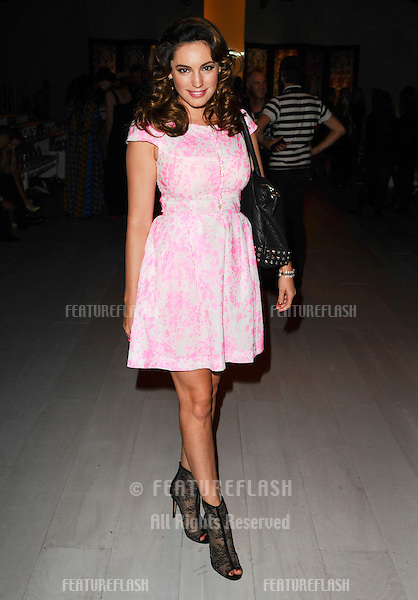 Kelly Brook at the Issa catwalk show as part of London Fashion Week SS13, London. 15/09/2012 Picture by: Steve Vas / Featureflash