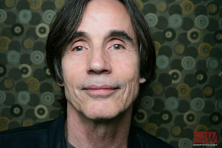 LOS ANGELES,CA - SEPTEMBER 12,2008:  Jackson Browne, photographed in Santa Monica, September 12, 2008. One of the signature names in the history of L.A. rock is back with a new album of fine work and a revived political spirit.