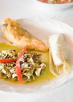 La Mesa de Blanca restaurant, Ziracuaretiro, Michoacan. Aromas y Sabores with Chef Patricia Quintana