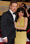 LOS ANGELES, CA - JANUARY 27: Damian Lewis and Helen McCrory.. arrives at the19th Annual Screen Actors Guild Awards held at The Shrine Auditorium on January 27, 2013 in Los Angeles, California.