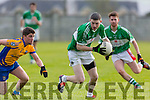 in Action Na Gaeil's Diarmuid Herlihy get away from  Beaufort's Michael John O'Connor in the   Senior Football League Div 3 Na Gaeil v Beaufort at Killeen Na Gaeil GAA Ground on Saturday