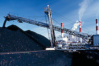 Coal burninng power plant, Canada