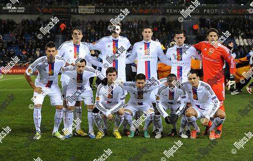 2012-12-06 / Europa League: KRC Genk - FC Basel / FC Basel