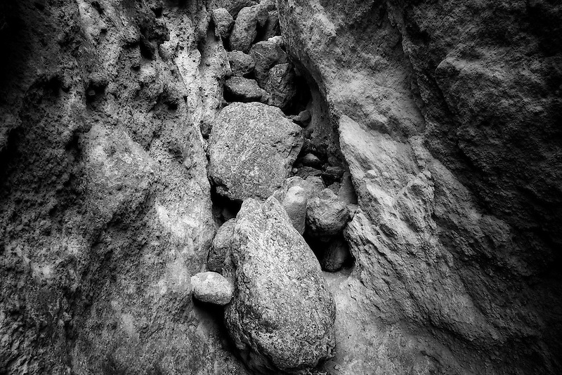 Boulders in canyon. Leslie Gultch. Malhuer County, Oregon.