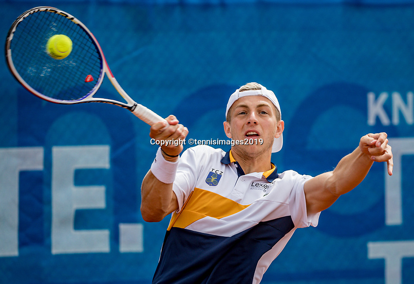 Zandvoort, Netherlands, 8 June, 2019, Tennis, Play-Offs Competition, Tallon Griekspoor (NED)<br /> Photo: Henk Koster/tennisimages.com