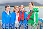 REGATTA FUN: Member's of the Dingle Rowing Club competing in Brandon Regatta on Sunday l-r: Neasa Flannery, Sarah Leahy, Gra?inne Ni? Chuinn and Aoife Ni? Ghrifi?n.