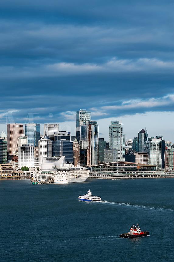 Vancouver skyline, British Columbia, Canada