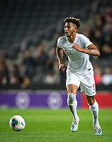 Lloyd Kelly (Bournemouth) of England U21 during the UEFA Euro U21 International qualifier match between England U21 and Austria U21 at Stadium MK, Milton Keynes, England on 15 October 2019. Photo by Andy Rowland.