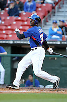 Buffalo Bisons outfielder Fred Lewis #33 during a game against the Gwinnett Braves at Coca-Cola Field on May 17, 2012 in Buffalo, New York.  Buffalo defeated Gwinnett 4-2.  (Mike Janes/Four Seam Images)