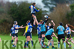Siobhan Fleming jumps highest against Galwegians in O'Dowd Park on Sunday