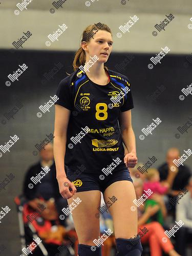 2013-09-28 / Volleybal / seizoen 2013-2014 / Amigos Zoersel / Lies Eykens<br /><br />Foto: Mpics.be