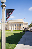 Williams Mall and Memorial Hall at Chapman University in Orange County California