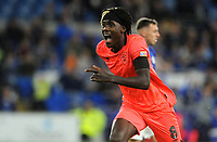 Huddersfield Town's Trevoh Chalobah celebrates scoring his side's first goal <br /> <br /> Photographer Ian Cook/CameraSport<br /> <br /> The EFL Sky Bet Championship - Cardiff City v Huddersfield Town - Wednesday August 21st 2019 - Cardiff City Stadium - Cardiff<br /> <br /> World Copyright © 2019 CameraSport. All rights reserved. 43 Linden Ave. Countesthorpe. Leicester. England. LE8 5PG - Tel: +44 (0) 116 277 4147 - admin@camerasport.com - www.camerasport.com