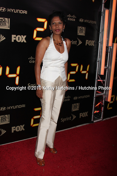 "Penny Johnson Jerald .arrives at the ""24"" Series Finale Party .Boulevard3.Los Angeles, CA.April 30, 2010.©2010 Kathy Hutchins / Hutchins Photo..."