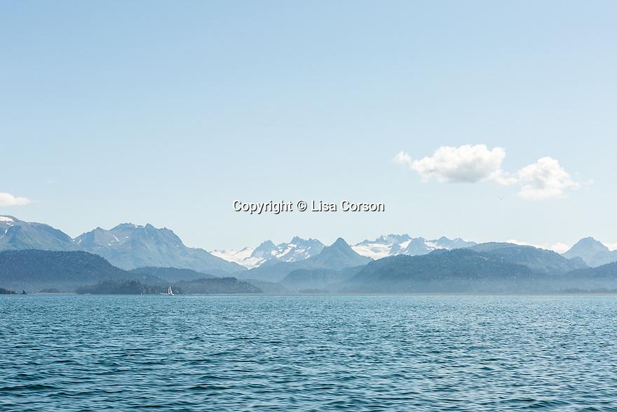 Kayaking trip. Homer, Alaska.