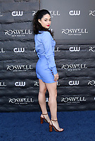 "WEST HOLLYWOOD, CA - JANUARY 10:  Jeanine Mason at the ""Roswell, New Mexico"" Experience at the 8801 Sunset Blvd on January 10, 2019 in West Hollywood, CA Credit: David Edwards/MediaPunch"