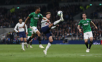 Tottenham Hotspur's Dele Alli gets into the Brighton penalty area<br /> <br /> Photographer Rob Newell/CameraSport<br /> <br /> The Premier League - Tottenham Hotspur v Brighton and Hove Albion - Tuesday 23rd April 2019 - White Hart Lane - London<br /> <br /> World Copyright © 2019 CameraSport. All rights reserved. 43 Linden Ave. Countesthorpe. Leicester. England. LE8 5PG - Tel: +44 (0) 116 277 4147 - admin@camerasport.com - www.camerasport.com