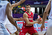 7th September 2017, Fenerbahce Arena, Istanbul, Turkey; FIBA Eurobasket Group D; Belgium versus Serbia; Shooting Guard Bogdan Bogdanovic #7 of Serbia in action during the match