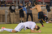 STANFORD, CA - JUNE 29: Shea Salinas #6 during a Major League Soccer (MLS) match between the San Jose Earthquakes and the LA Galaxy on June 29, 2019 at Stanford Stadium in Stanford, California.