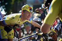 Matti Breschel (DEN/Tinkoff-Saxo) before the start<br /> <br /> stage 2<br /> Euro Metropole Tour 2014 (former Franco-Belge)