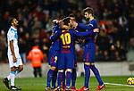 Leo Messi & Luis Suarez FC Barcelona v Deportivo de la Coruña en el Camp Now, Barcelona, Jornada 16, 17 Diciembre 2017. Photo Martin Seras Lima