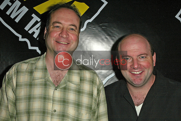 Tim Conway Jr and Brian Whitman<br />at the annual KLSX FM Talk Think Tank. Dave and Busters, Irvine, CA. 09-29-05<br />Jason Kirk/DailyCeleb.com 818-249-4998