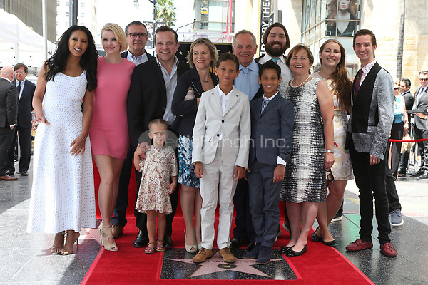 HOLLYWOOD, CA - APRIL 26: Gelila Assefa, Chef Wolfgang Puck and FAmily pictured as Chef Wolfgang Puck is honored with a Star on the Hollywood Walk of Fame on April 26, 2017 in Hollywood, California. Credit: FS/MediaPunch