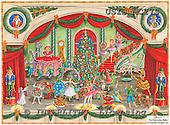 Ingrid, CHRISTMAS SYMBOLS, WEIHNACHTEN SYMBOLE, NAVIDAD SÍMBOLOS, paintings+++++,USISMC27S,#XX# vintage