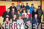 Play Acting<br /> -------------<br /> Pictured on a practice night are the Kilflynn area developement and variety show participants which takes place on Jan 9,10&amp;11th in the Village community hall are (seated) L-R Kathleen McElligott,Karina Lynn,Geraldine Parker,Tony Neenan&amp;Tim O'Halloran (2nd row) L-R Sean Guiheen,John Byrne,Marian Lynch,Maureen Wein,Karen Hayes&amp;Tom McElligott (back) L-R Mike Neenan,Andrew&amp;Gerald Byrne,John Hannon,Graham Harris&amp;Clive Putman.