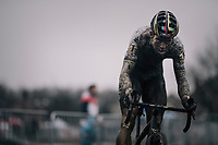 CX world champion Wout Van Aert (BEL/Crelan-Charles)<br /> <br /> Elite Men's Race<br /> GP Sven Nys / Belgium 2018