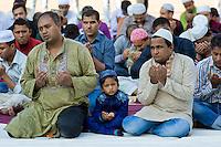 I mussulmani a Roma celebrano Eid al-Adha
