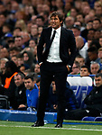 Chelsea's Antonio Conte in action during the champions league match at Stamford Bridge Stadium, London. Picture date 12th September 2017. Picture credit should read: David Klein/Sportimage